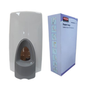 FOAM SOAP AND DISPENSER